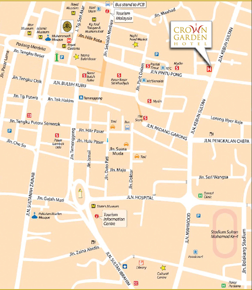 Hotel-location-map