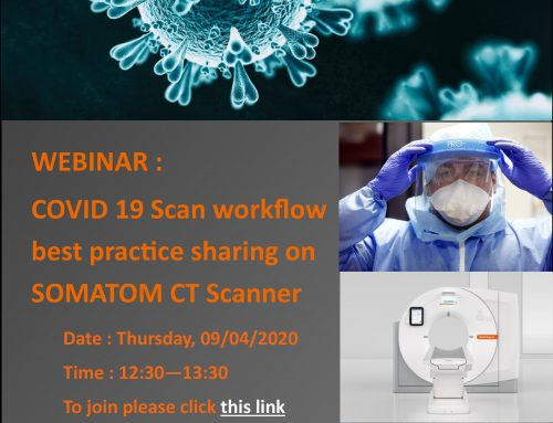 WEBINAR: COVID-19 Scan Workflow Best Practice Sharing on SOMATOM CT Scanners