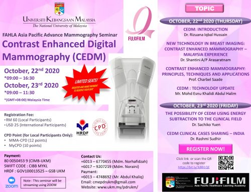 Contast Enhanced Digital Mammography (CEDM) Webinar