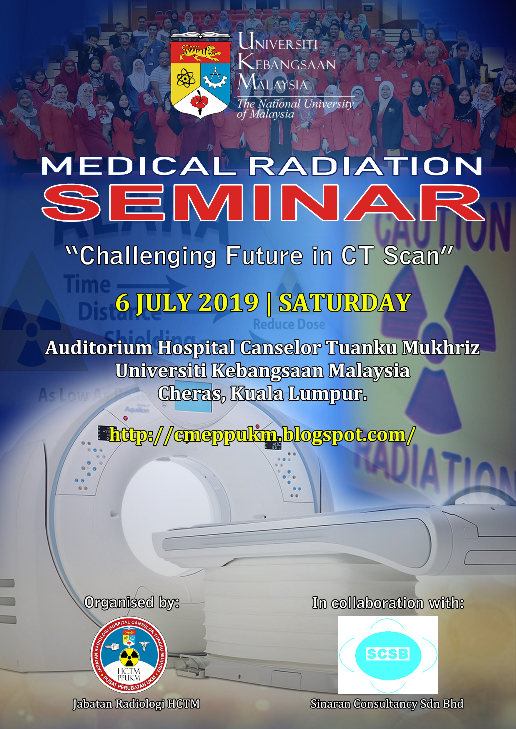 "Medical Radiation Seminar ""Challenging Future in CT Scan"""