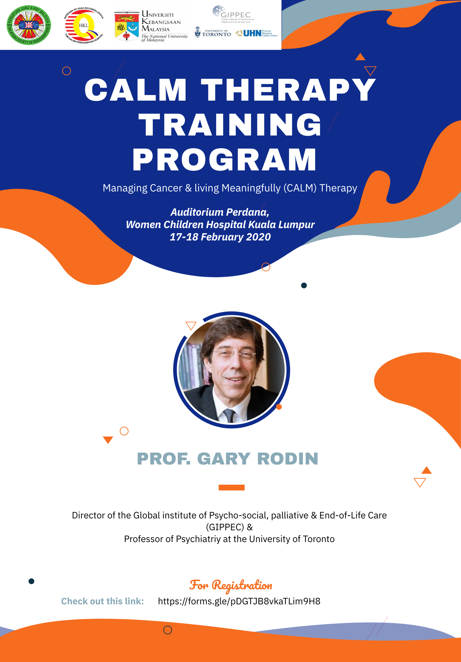 CALM THERAPY TRAINING PROGRAM