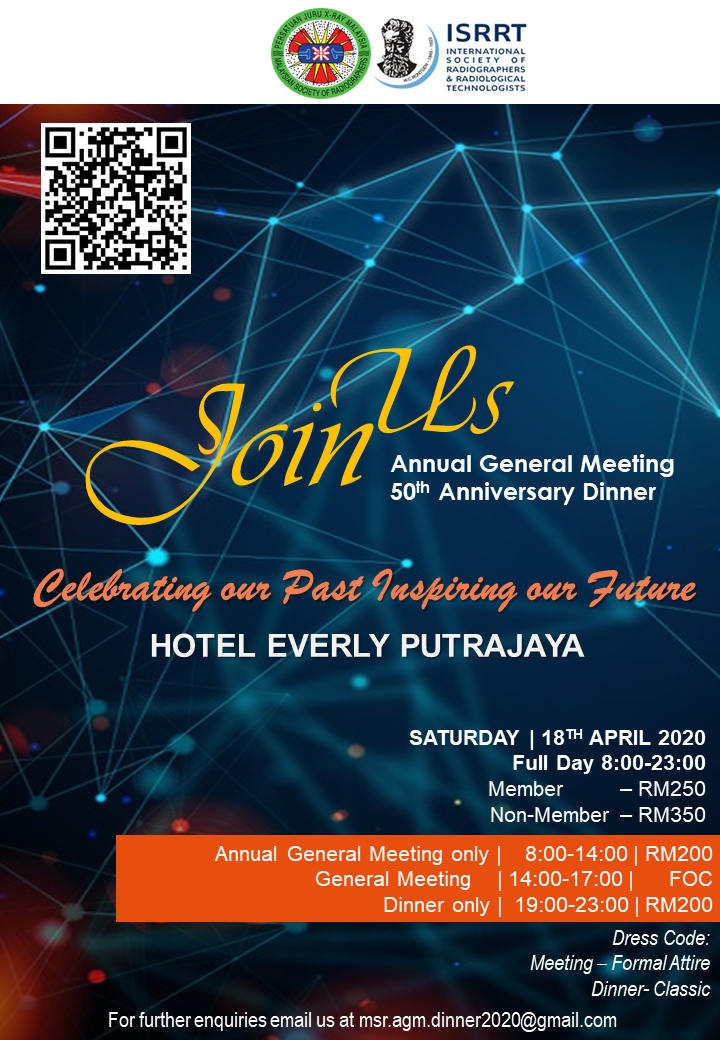 Annual General Meeting & 50th Anniversary Dinner