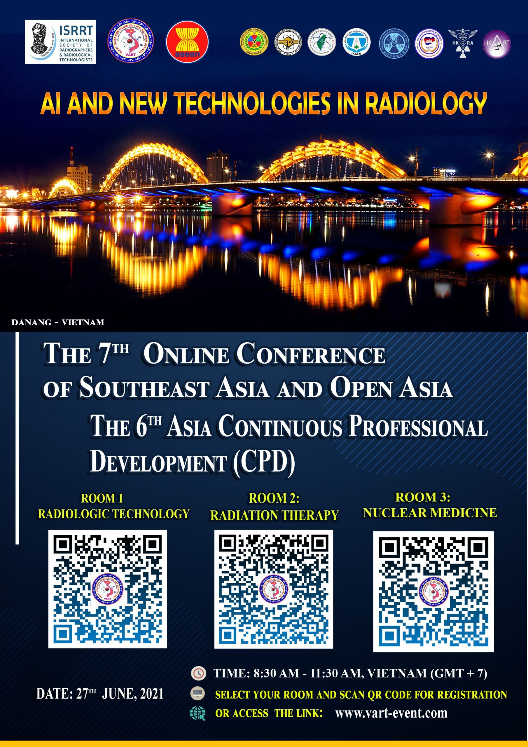 THE 7th ONLINE CONFERENCE OF SOUTHEAST ASIA AND OPEN ASIA  & THE 6th ASIA CONTINUOUS PROFESSIONAL DEVELOPMENT (CPD)
